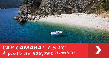 Jeanneau Cap Camarat 7.5 CC - Offres Leasy Boat - Location avec Option d'achat