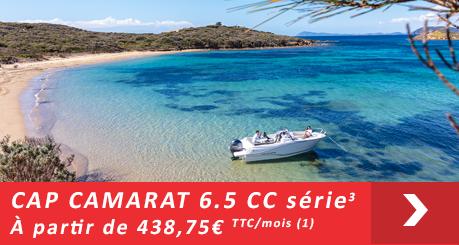 Jeanneau Cap Camarat 6.5 CC  Série 3 - Offres Leasy Boat - Location avec Option d'achat