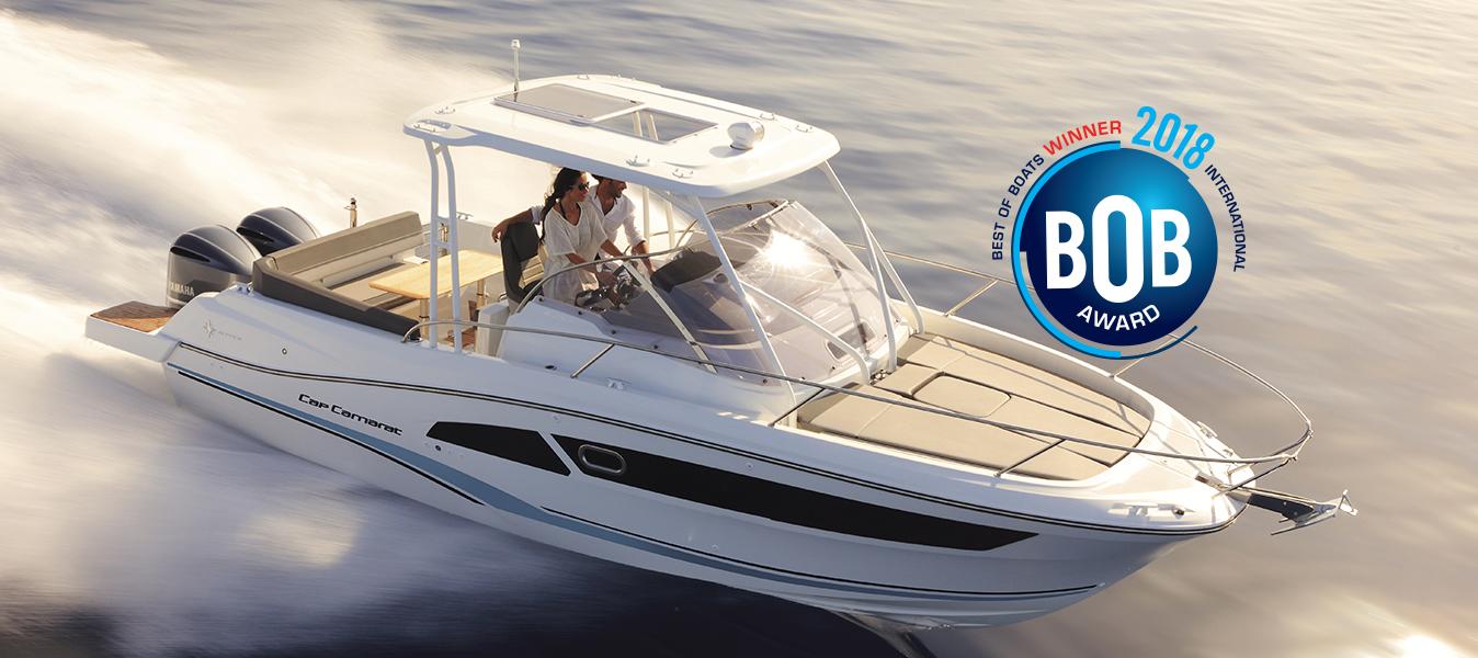 Cap Camarat 9.0 WA élu dans la catégorie Best for Fun lors des Best of Boats Award 2018