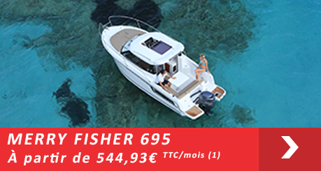 Jeanneau MERRY FISHER 695  - Offres Leasy Boat - Location avec Option d'achat