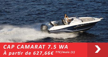 Jeanneau Cap Camarat 7.5 WA - Offres Leasy Boat - Location avec Option d'achat