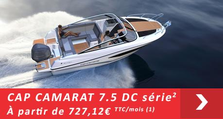 Jeanneau Cap Camarat 7.5 DC - Offres Leasy Boat - Location avec Option d'achat