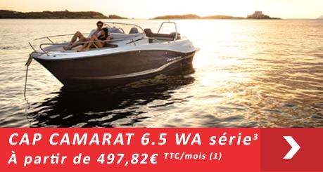 Jeanneau Cap Camarat 6.5 WA Série 3 - Offres Leasy Boat - Location avec Option d'achat