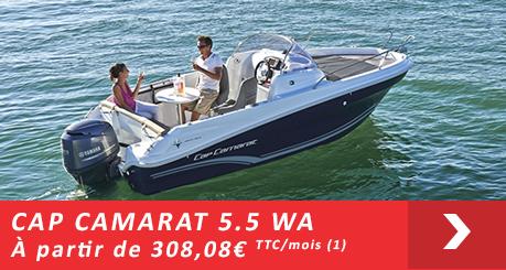 Jeanneau Cap Camarat 5.5 WA - Offres Leasy Boat - Location avec Option d'achat