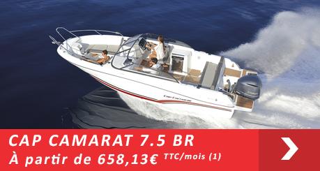Jeanneau Cap Camarat 7.5 BR - Offres Leasy Boat - Location avec Option d'achat