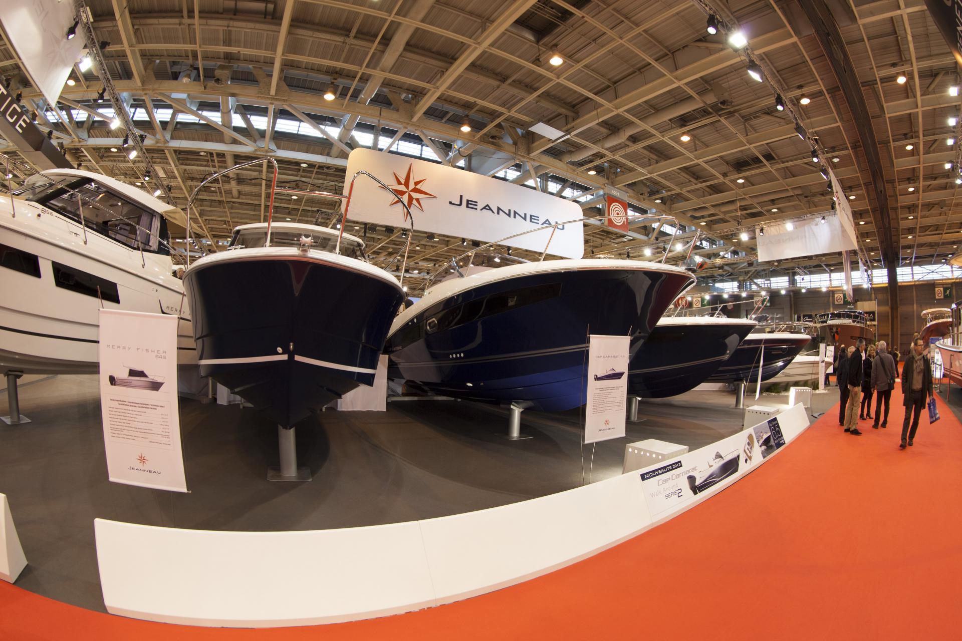 Jeanneau sur le salon nautique de paris 2012 jeanneau for Salon nautique porte de versailles horaires