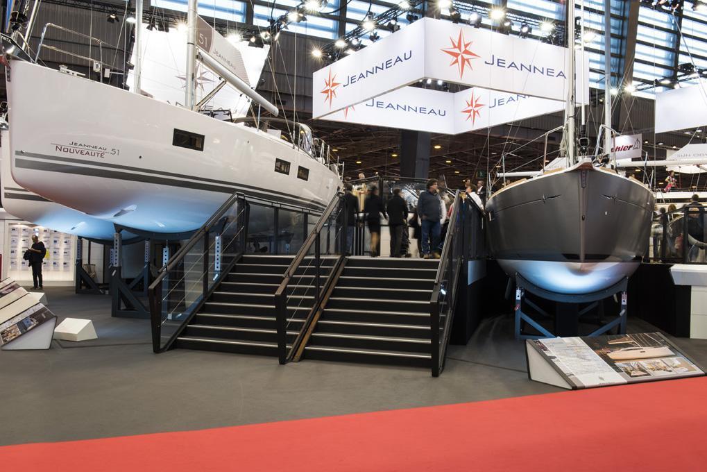 Salon nautique de paris jeanneau for Salons nautiques