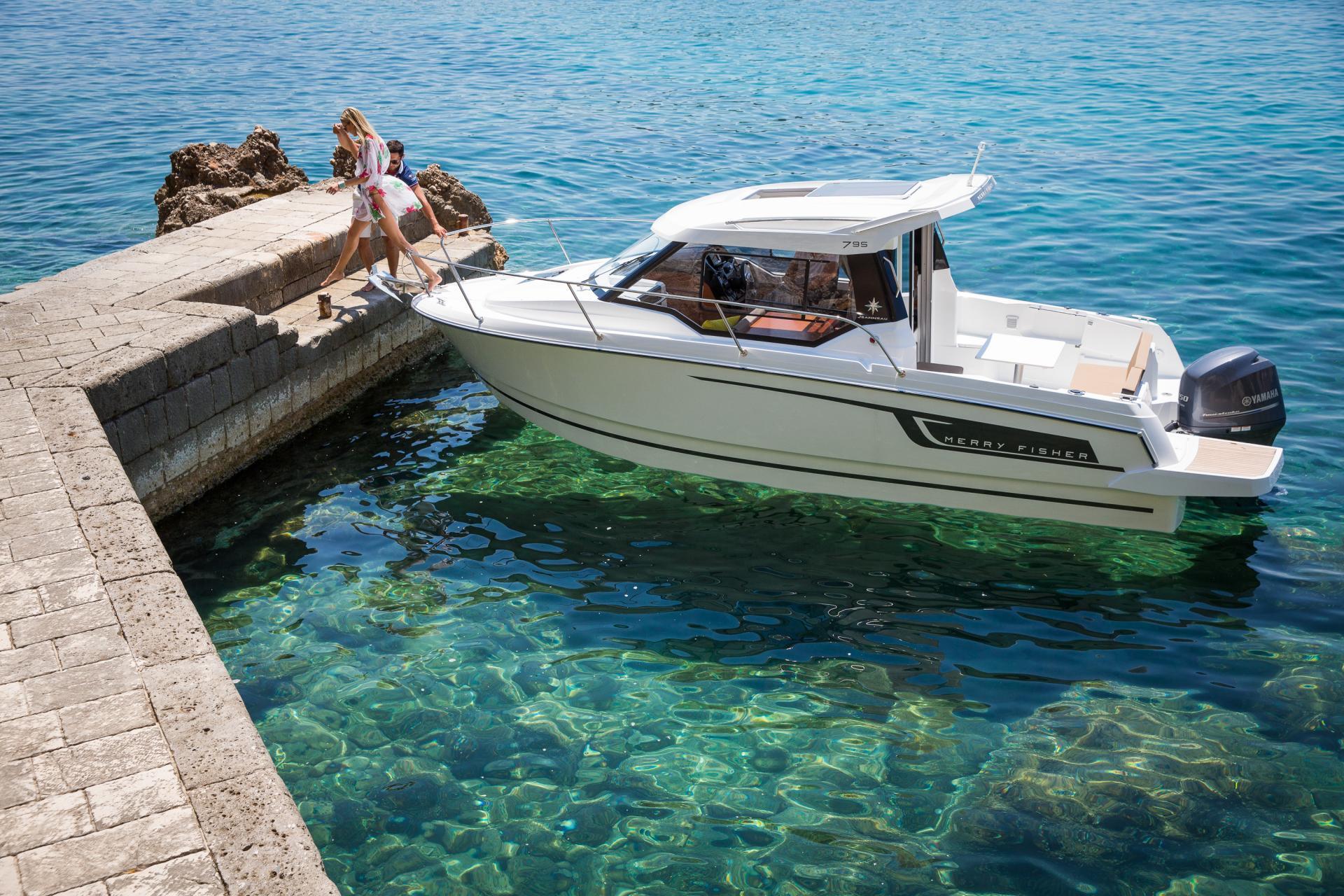 Merry Fisher 795 | Jeanneau Boats