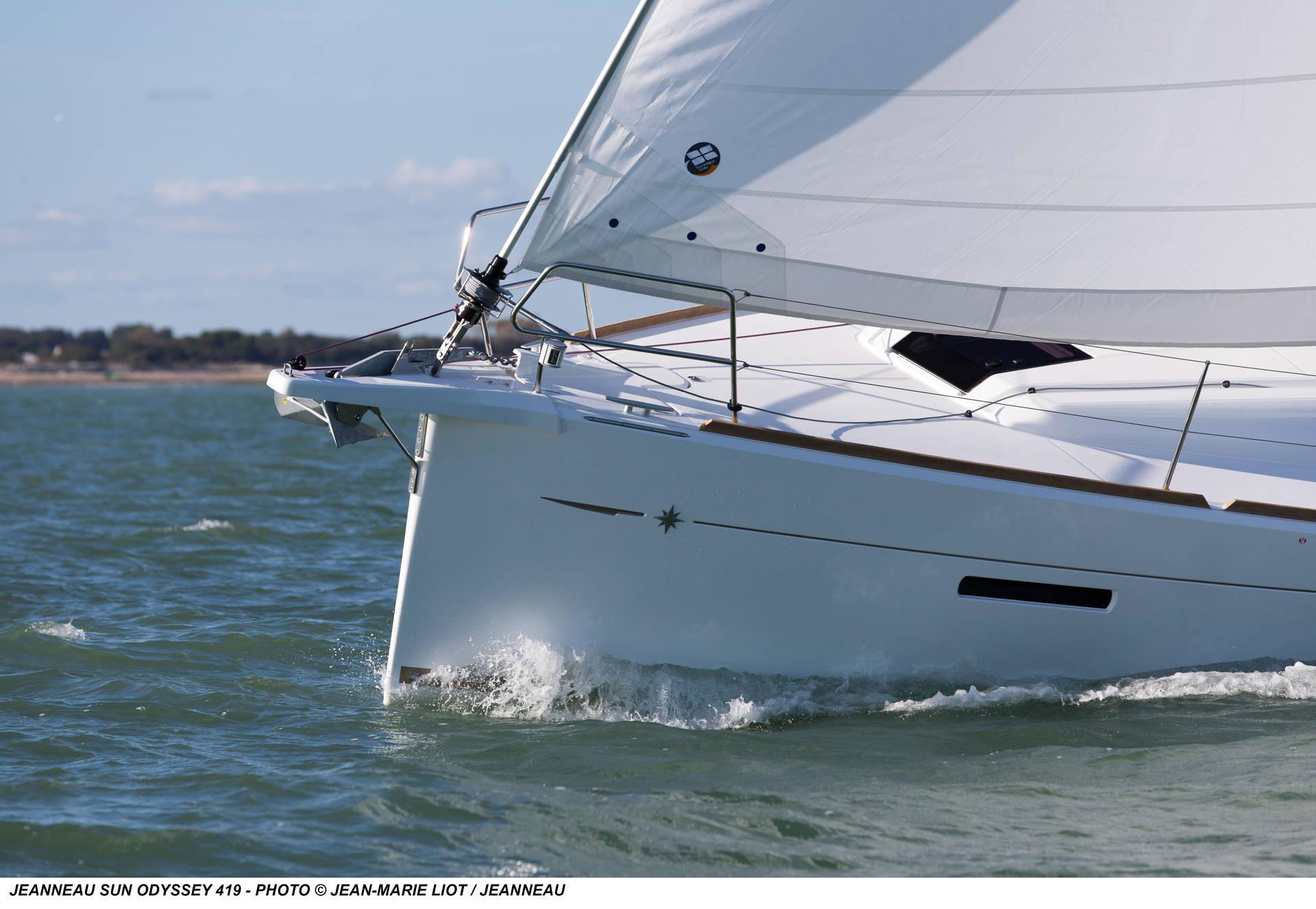 Sun Odyssey 419 | Jeanneau Boats on