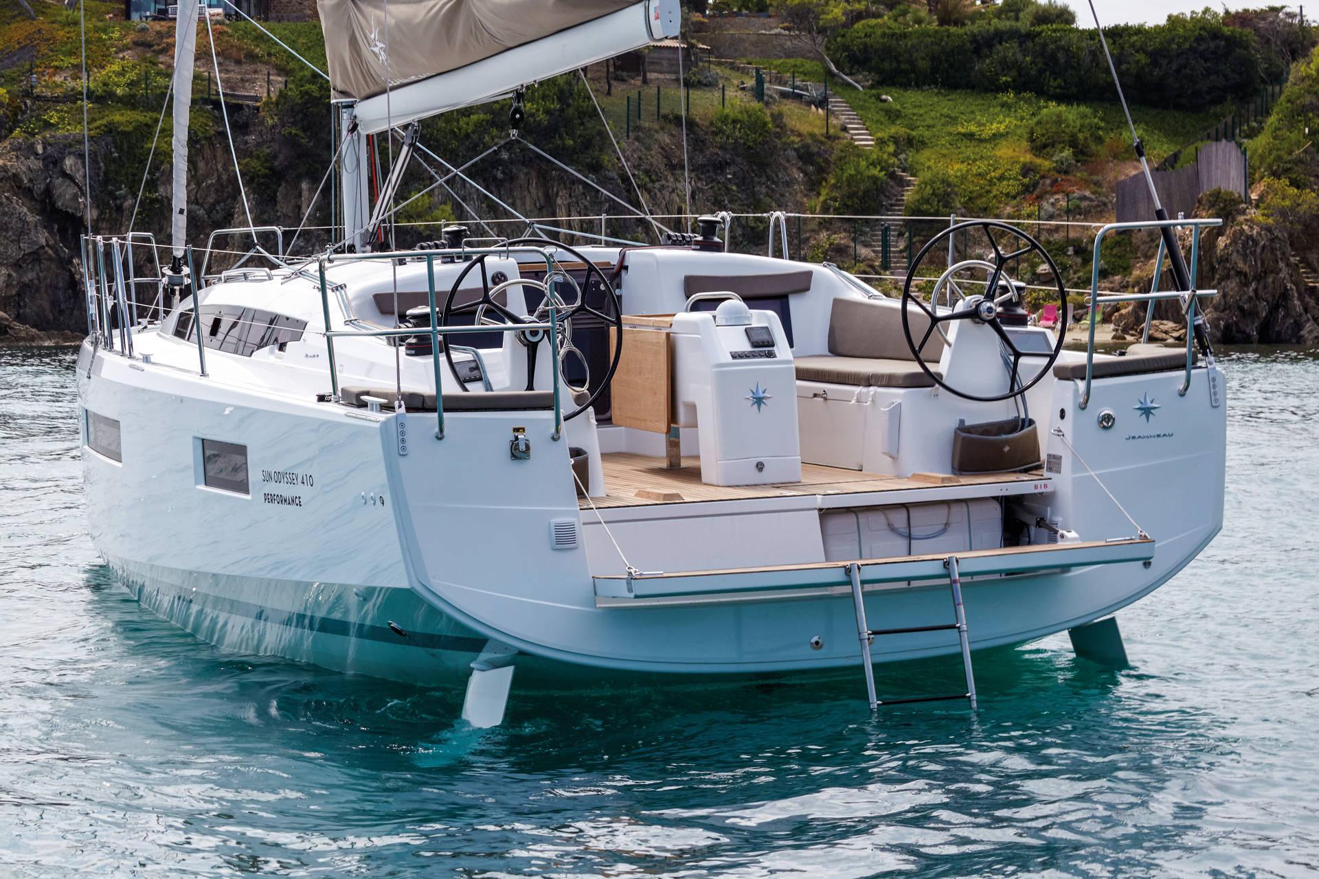 Sun Odyssey 410 Vistas del exterior 30