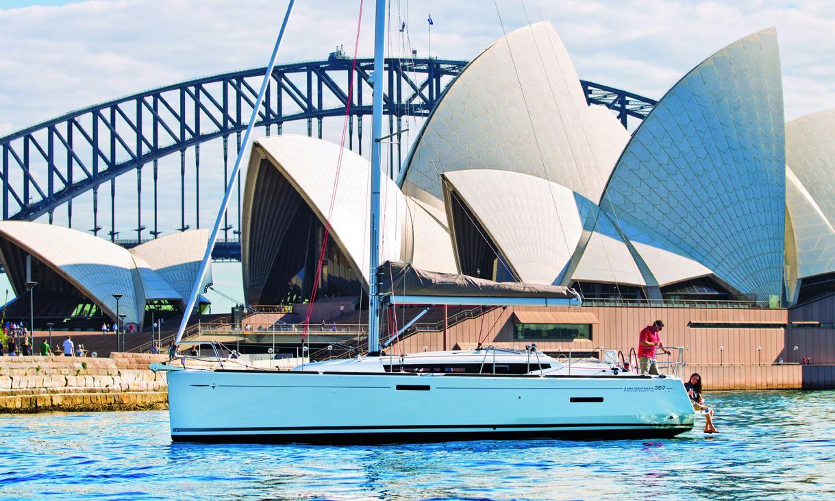 Sun Odyssey 389 Jeanneau Boats