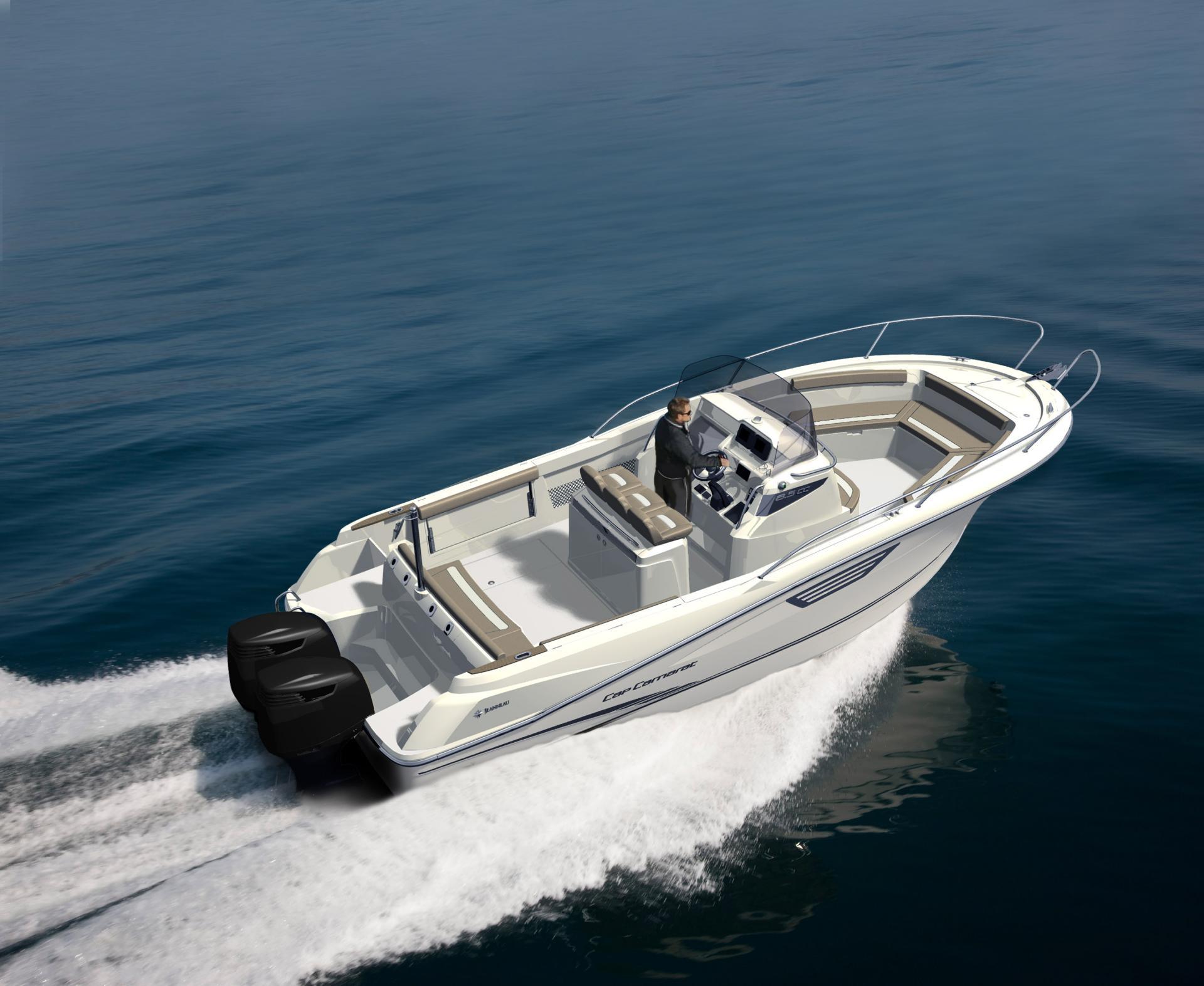 Cap Camarat 8 5 CC | Jeanneau Boats
