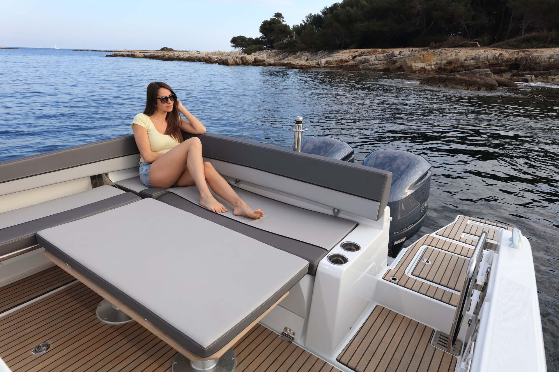 Cap Camarat 9.0 CC │ Cap Camarat Center Console of 9m │ Boat 舷外动力艇 Jeanneau Cap Camarat 9.0 CC 11543