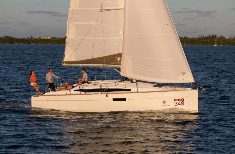 Sun Odyssey 349 │ Sun Odyssey of 10m │ Boat Sailboat Jeanneau  19142