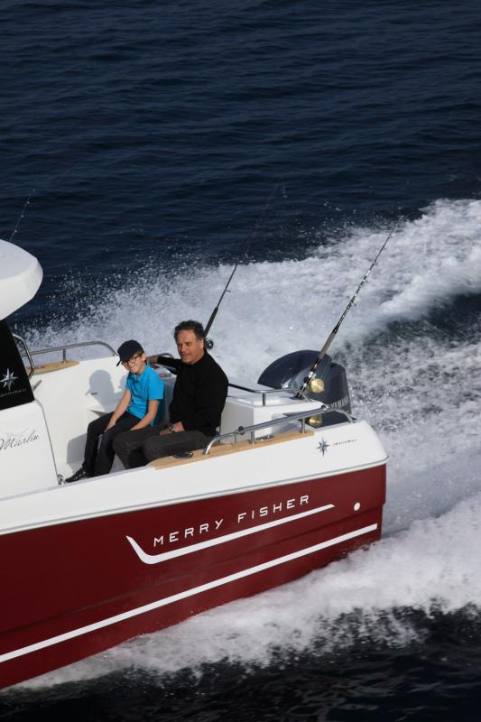 Merry Fisher 755 Marlin │ Merry Fisher Marlin of 7m │ Boat powerboat Jeanneau boat Merry-Fisher-755-marlin 454