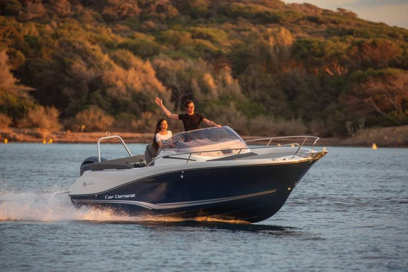 Cap Camarat 6.5 WA série3 │ Cap Camarat Walk Around of 6m │ Boat powerboat Jeanneau  17199