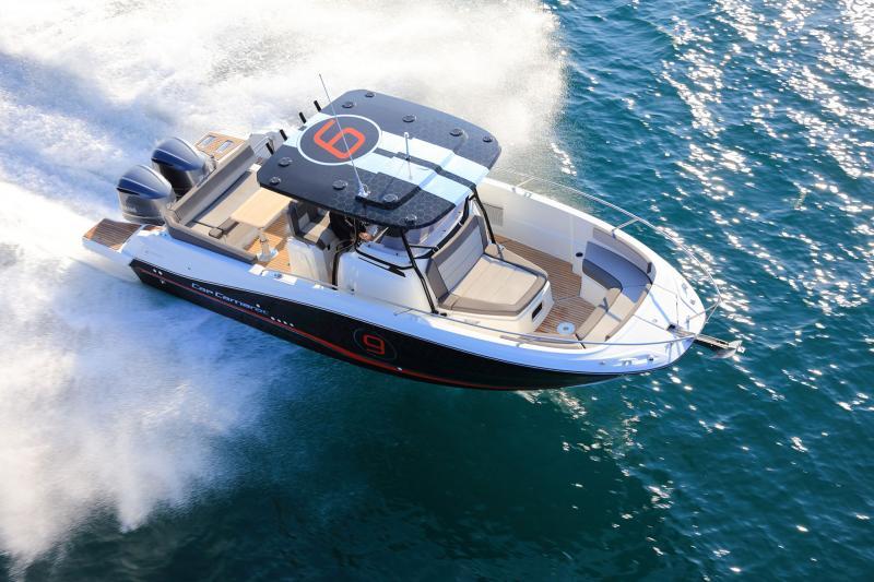 Cap Camarat 9.0 CC │ Cap Camarat Center Console of 9m │ Boat Outboard Jeanneau Cap Camarat 9.0 CC 11365