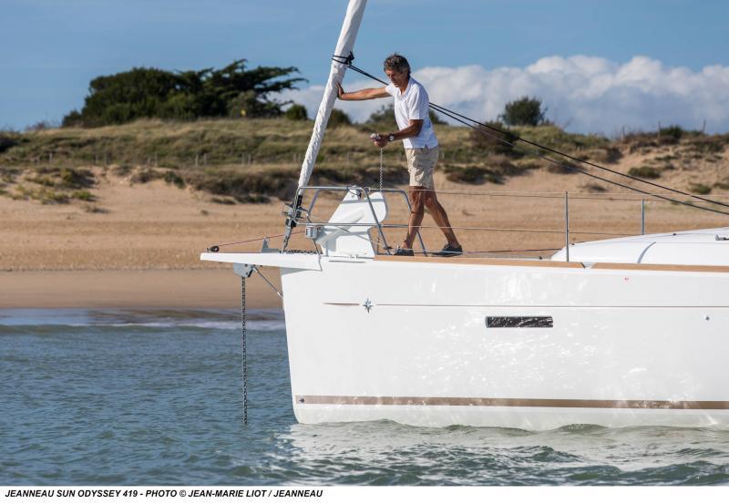 Sun Odyssey 419 │ Sun Odyssey of 13m │ Boat Yelkenli̇ Jeanneau  19370