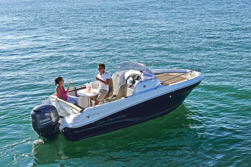 Cap Camarat 5.5 WA │ Cap Camarat Walk Around of 5m │ Boat Outboard Jeanneau  10984