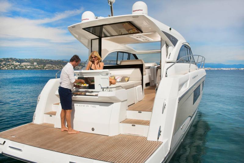 Leader 46 │ Leader of 14m │ Boat Inboard Jeanneau Aft Platform 18499