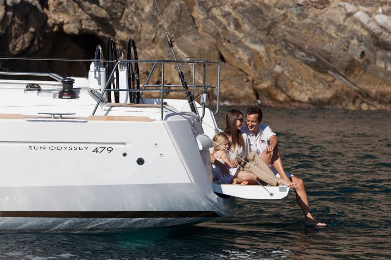 Sun Odyssey 479 │ Sun Odyssey of 14m │ Boat Veleros Jeanneau  19569