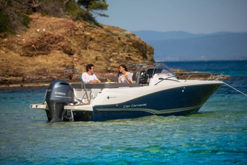 Cap Camarat 6.5 WA série3 │ Cap Camarat Walk Around of 6m │ Boat powerboat Jeanneau  17194
