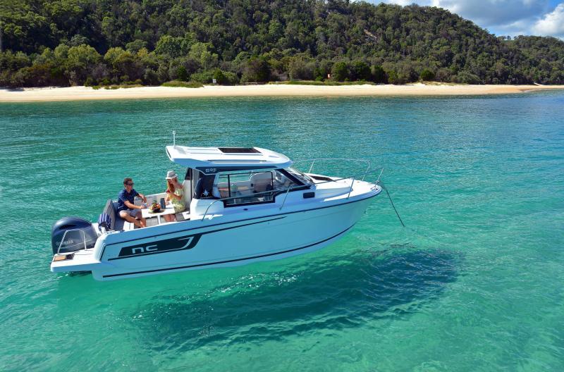NC 695 Series 2 │ NC Weekender of 7m │ Boat powerboat Jeanneau  21023