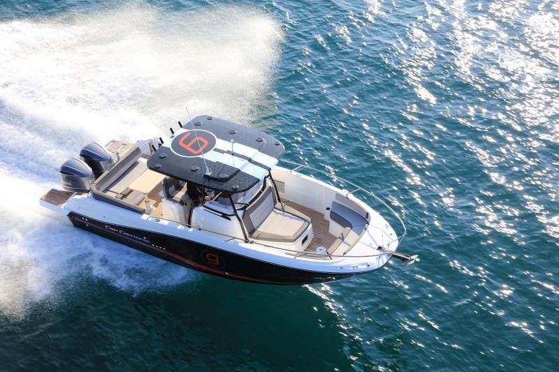 Cap Camarat 9.0 CC │ Cap Camarat Center Console of 9m │ Boat Outboard Jeanneau Cap Camarat 9.0 CC 11538