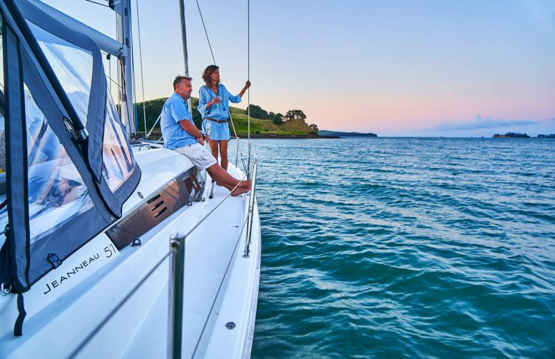Jeanneau Yachts 51 │ Jeanneau Yachts de 15m │ Bateaux Voiliers Jeanneau  17360