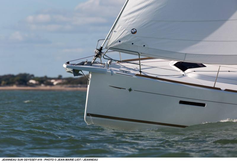 Sun Odyssey 419 │ Sun Odyssey of 13m │ Boat Veleros Jeanneau  19366