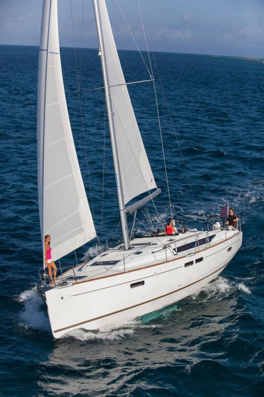 Sun Odyssey 479 │ Sun Odyssey de 14m │ Bateaux Voiliers Jeanneau  19575