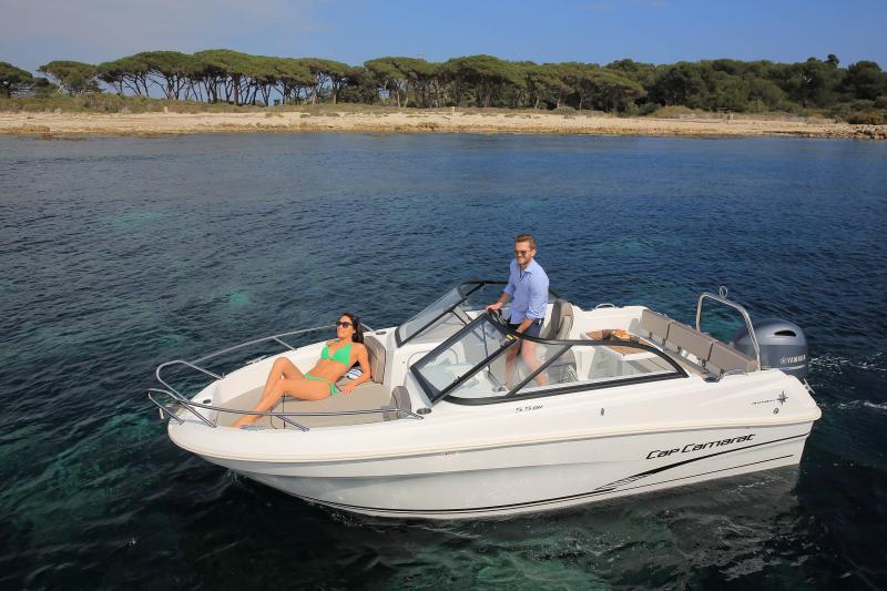 CAP CAMARAT 5.5 BR │ Cap Camarat Bow Rider of 5m │ Boat powerboat Jeanneau CAP CAMARAT 5.5 BR 4852
