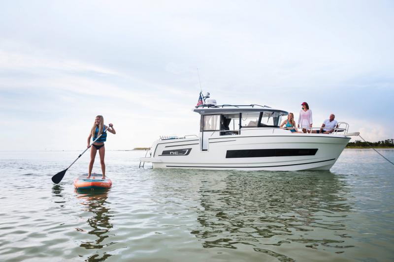 NC 895 Sport │ NC Sport of 9m │ Boat Outboard Jeanneau  18991