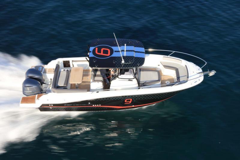 Cap Camarat 9.0 CC │ Cap Camarat Center Console of 9m │ Boat Outboard Jeanneau Cap Camarat 9.0 CC 11534