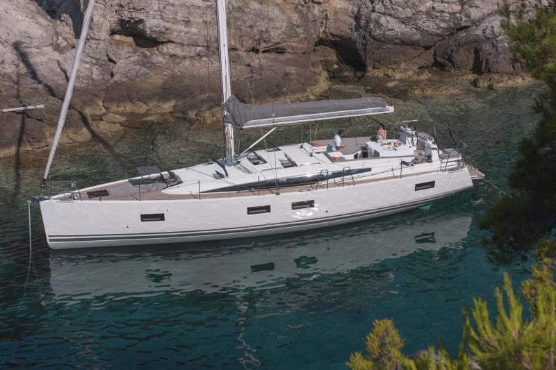 Jeanneau 54 Exterior Views 61