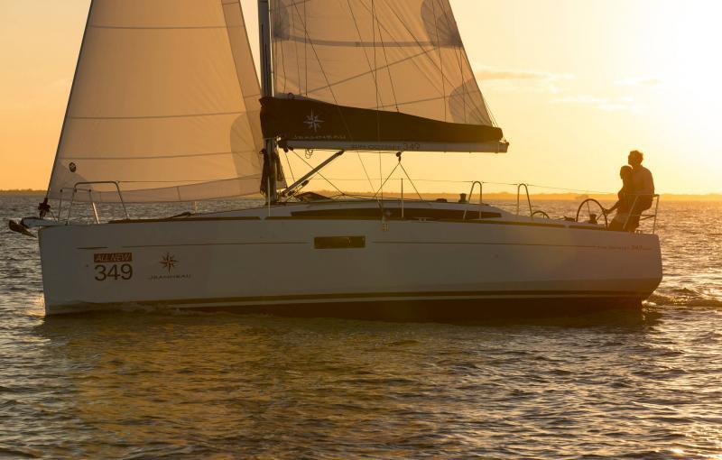Sun Odyssey 349 │ Sun Odyssey of 10m │ Boat Sailboat Jeanneau  19145