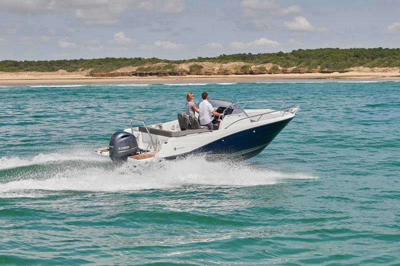 Cap Camarat 6.5 WA série3 │ Cap Camarat Walk Around of 6m │ Boat Outboard Jeanneau  17186