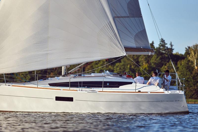 Sun Odyssey 319 Vista esterni 22