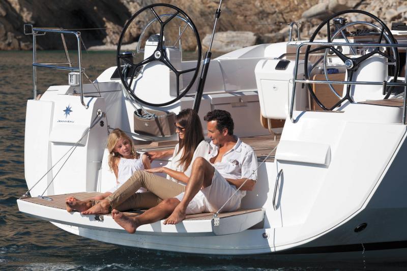 Sun Odyssey 479 │ Sun Odyssey of 14m │ Boat Segelboote Jeanneau  13232