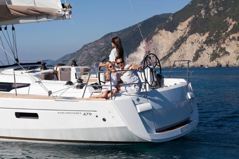 Sun Odyssey 479 │ Sun Odyssey of 14m │ Boat Segelboote Jeanneau  13247