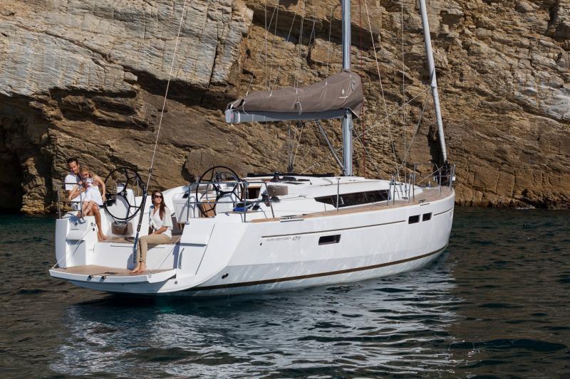 Sun Odyssey 479 │ Sun Odyssey of 14m │ Boat Barche a vela Jeanneau  13245