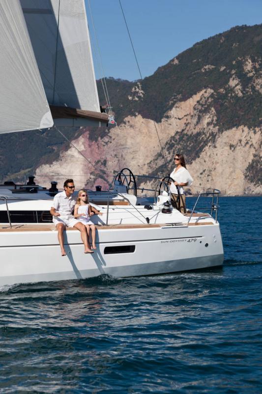 Sun Odyssey 479 │ Sun Odyssey of 14m │ Boat Segelboote Jeanneau  13234