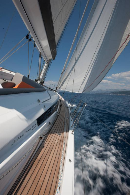 Jeanneau 54 Exterior Views 23