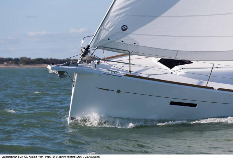 Sun Odyssey 419 │ Sun Odyssey of 13m │ Boat Barche a vela Jeanneau  13066