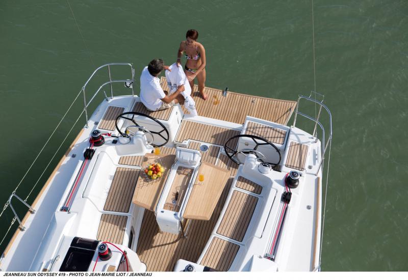 Sun Odyssey 419 │ Sun Odyssey of 13m │ Boat Barche a vela Jeanneau  13062