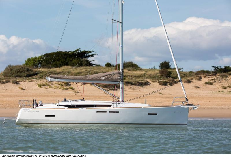 Sun Odyssey 419 │ Sun Odyssey of 13m │ Boat Barche a vela Jeanneau  13061