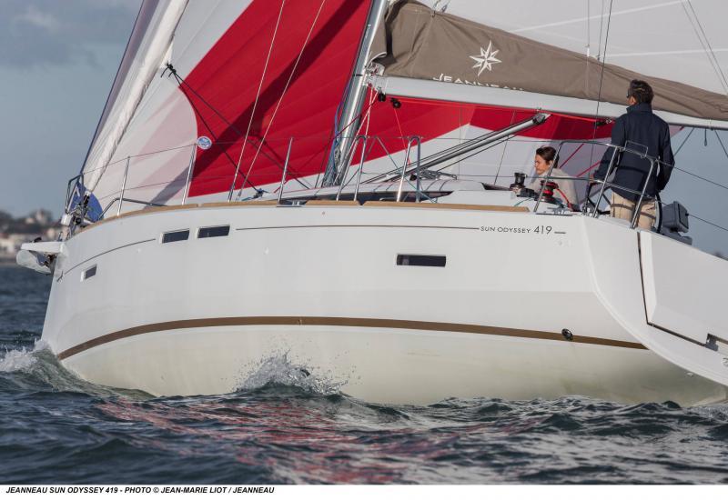Sun Odyssey 419 │ Sun Odyssey of 13m │ Boat Barche a vela Jeanneau  13059