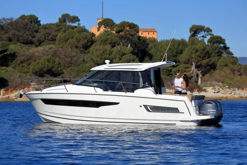 Merry Fisher 895 │ Merry Fisher of 9m │ Boat Außenbord Jeanneau 2-Anchoring 16377
