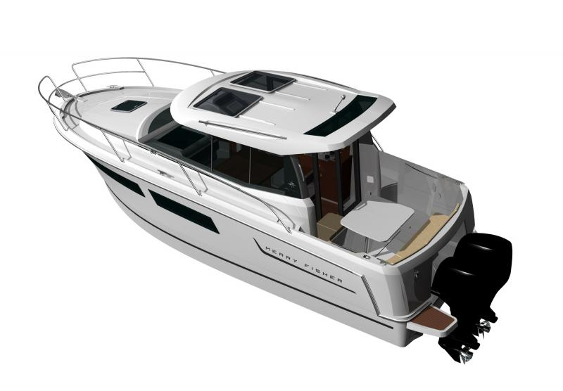 Merry Fisher 855 │ Merry Fisher of 9m │ Boat powerboat Jeanneau boat Merry-Fisher-855 295