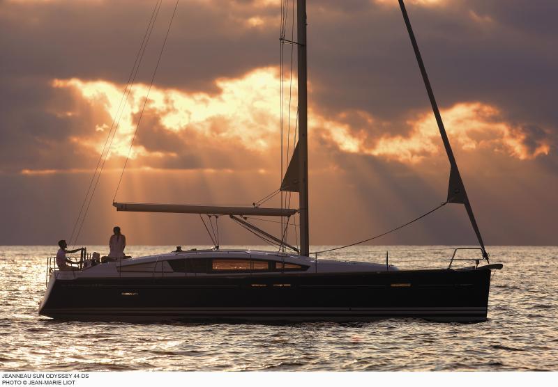 Sun Odyssey 44 DS │ Sun Odyssey DS of 13m │ Boat Sailboat Jeanneau boat Sun-Odyssey-DS-44DS 385